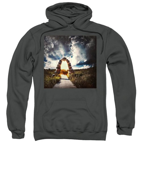 The Arch On The Edge Of Forever Sweatshirt