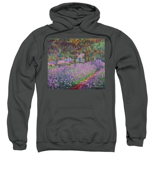 The Artists Garden At Giverny Sweatshirt