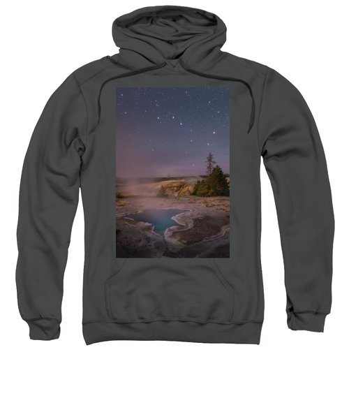The Big Dipper In Yellowstone National Park Sweatshirt