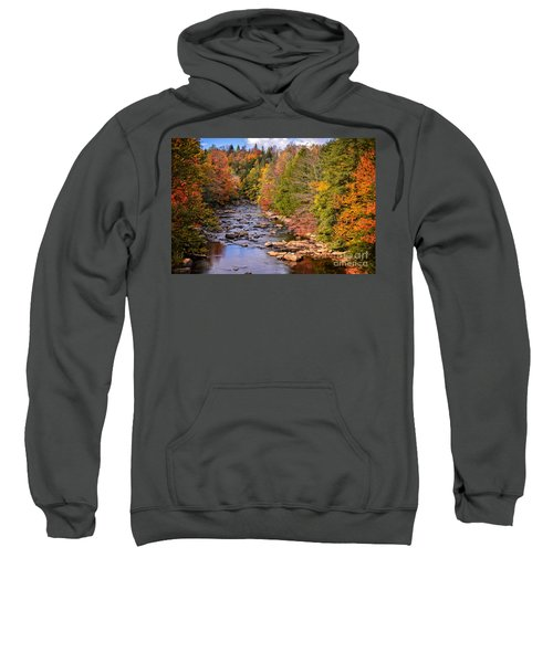 The Blackwater River In Autumn Color Sweatshirt