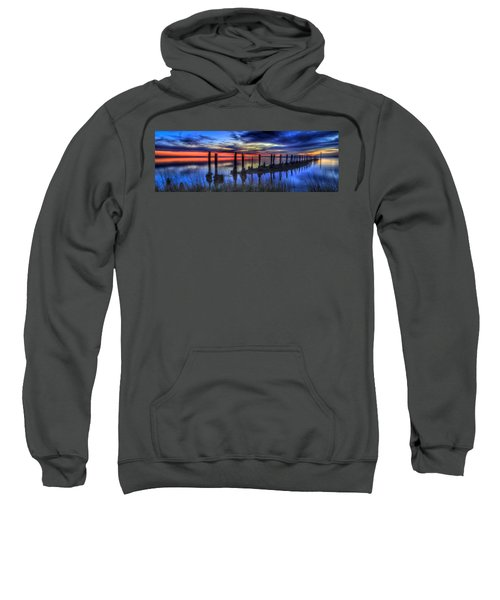 The Blue Hour Comes To St. Marks #2 Sweatshirt