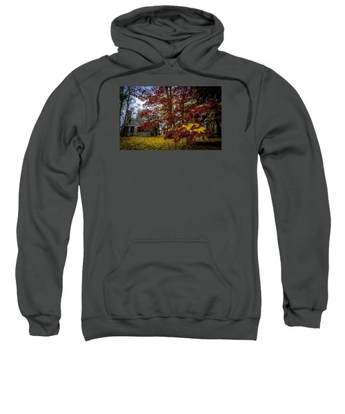 The Cabin In Autumn Sweatshirt