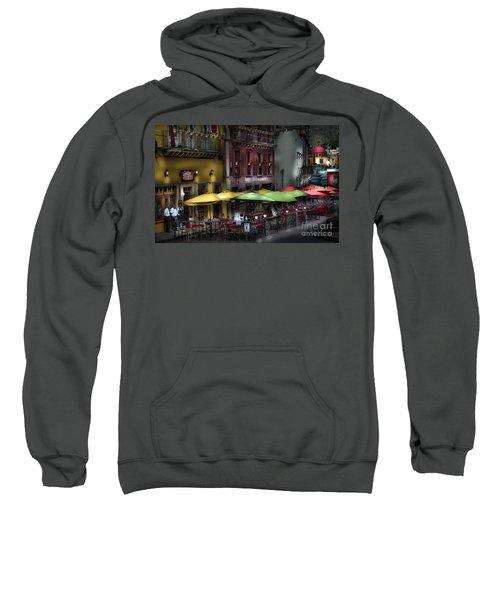 The Cafe At Night Sweatshirt