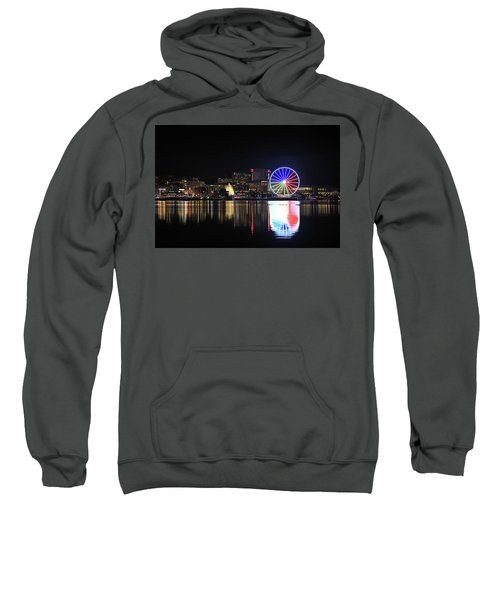 The Capital Wheel Over The Potomac Sweatshirt