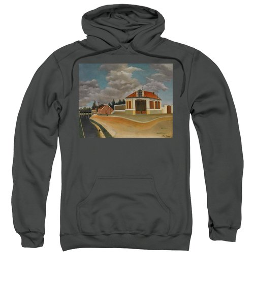 The Chairs Factory At Alfortville Sweatshirt
