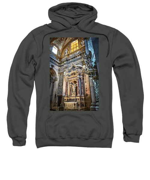 The Chapel Of Ignatius Of Loyola Sweatshirt