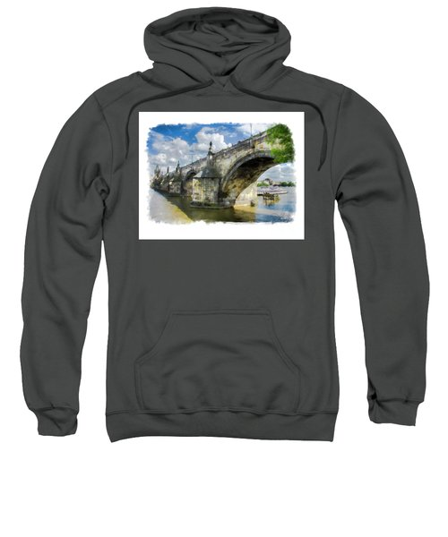The Charles Bridge - Prague Sweatshirt