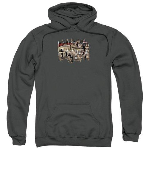 The Chess Match In Portland Sweatshirt
