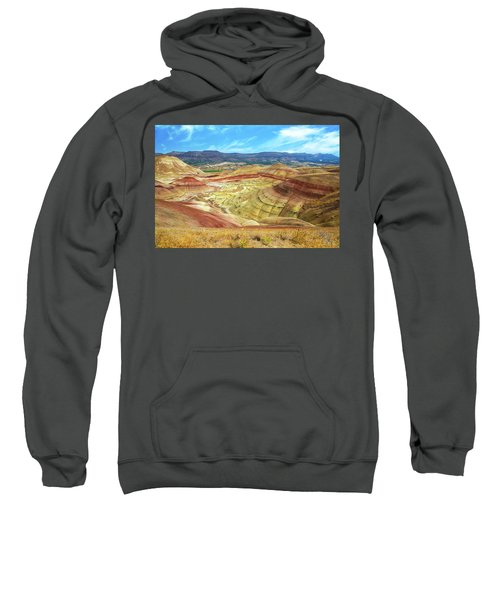 The Colorful Painted Hills In Eastern Oregon Sweatshirt