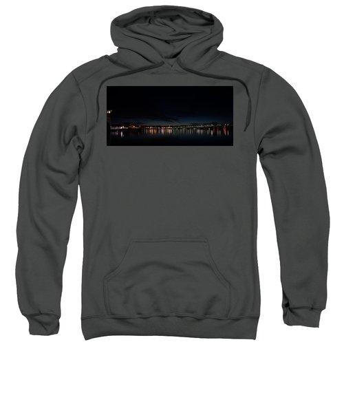 The Colors Of A Nightly Bridge Sweatshirt