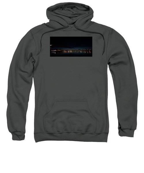 The Colors Of A Nightly Bridge Sweatshirt