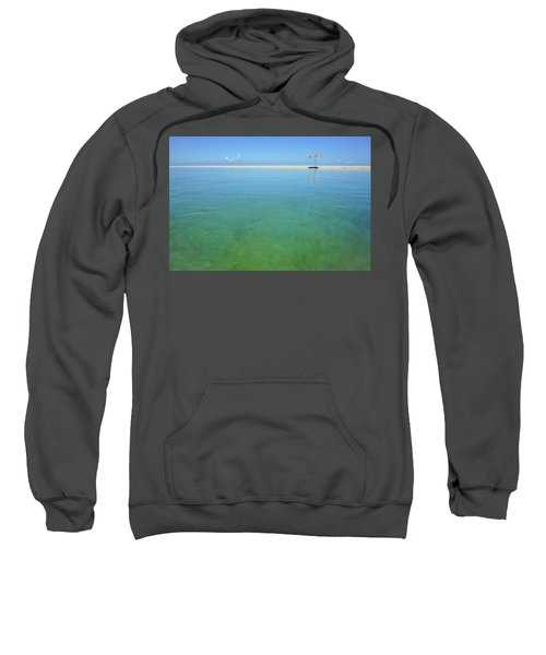 The Colours Of Paradise On A Summer Day Sweatshirt