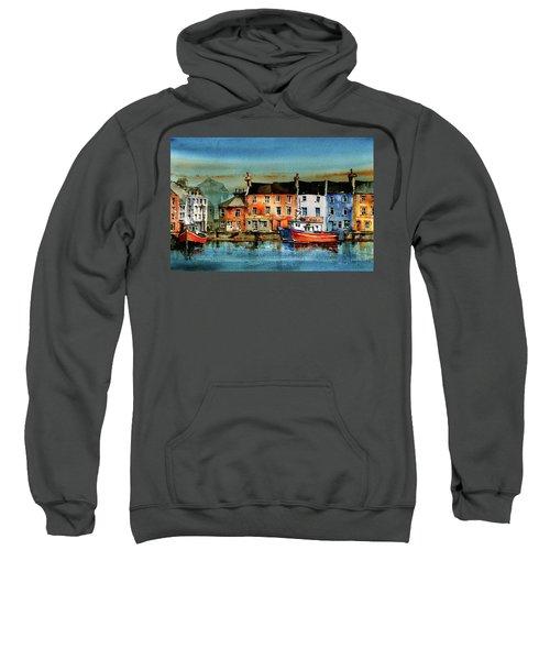 The Commercial Docks, Galway Citie Sweatshirt