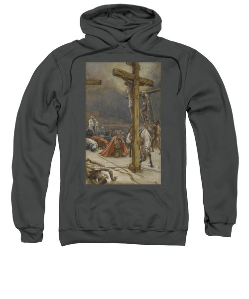 The Confession Of Saint Longinus Sweatshirt