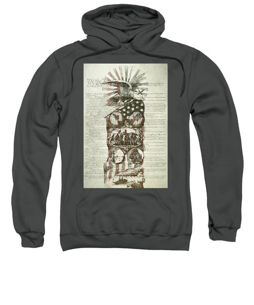The Constitution Of The United States Of America Sweatshirt