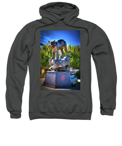 The Cougar Pride Sculpture Sweatshirt