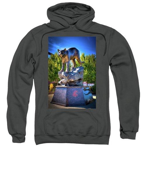 The Cougar Pride Sculpture Sweatshirt