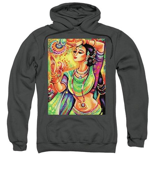The Dance Of Tara Sweatshirt by Eva Campbell