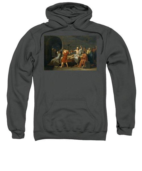 The Death Of Socrates, 1787 Sweatshirt