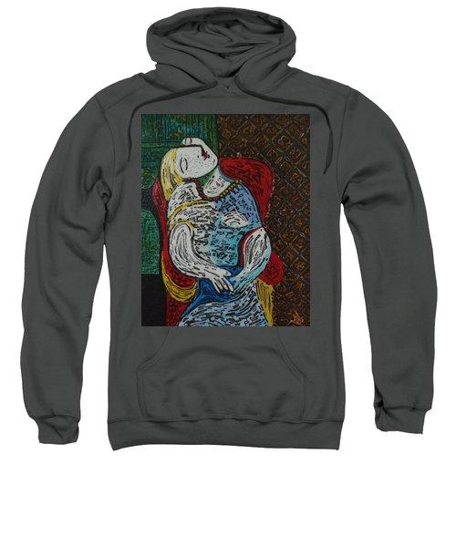 The Dream Walker -le Reve Zombi  Sweatshirt