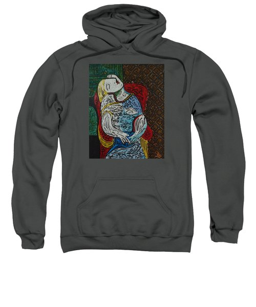 The Dream Walker -le Reve Zombi  Sweatshirt