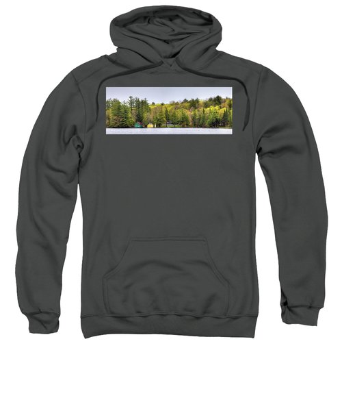 The Early Greens Of Spring Sweatshirt by David Patterson