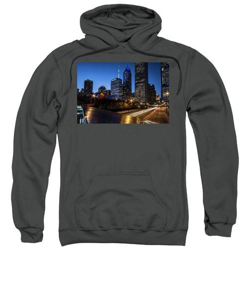 The East Side Skyline Of Chicago  Sweatshirt