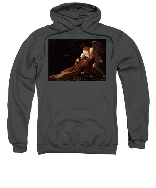 The Ecstacy Of Saint Francis Of Assisi Sweatshirt