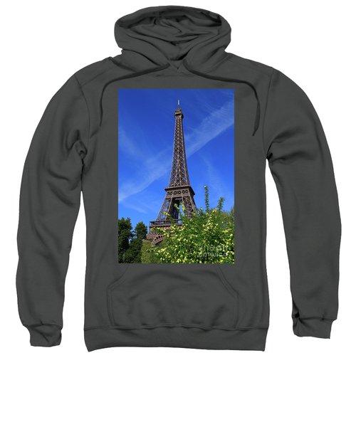 The Eiffel Tower In Spring Sweatshirt