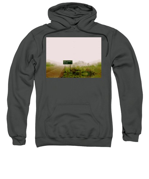 The End Of The Earth Sweatshirt