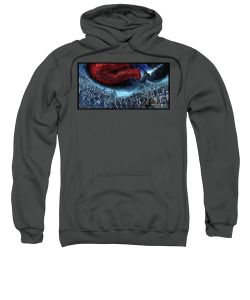 The Essence Of Time Matches No Flesh Sweatshirt