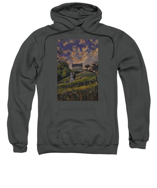 The Evening Stroll Around The Hoeve Zonneberg Sweatshirt by Nop Briex