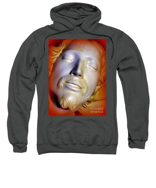 The Face Of Jesus-the Pieta Sweatshirt