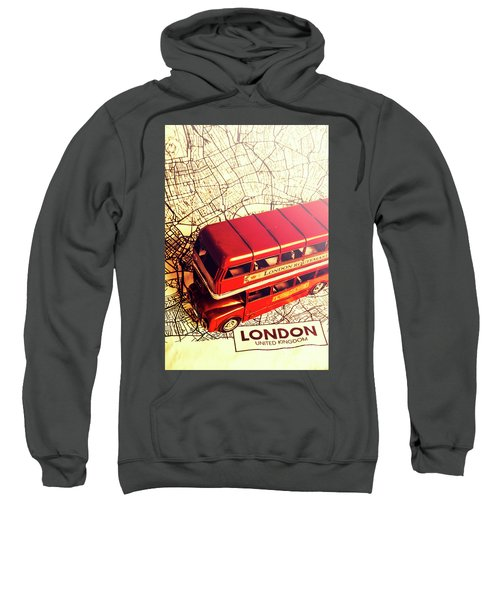 The Famous Red Bus Sweatshirt