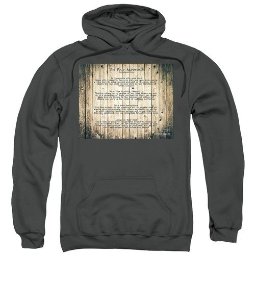 The Four Agreements 8 Sweatshirt