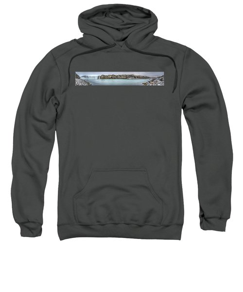 The Godafoss Falls Pano Sweatshirt