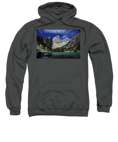 The Grand And Mount Owen From Delta Lake Sweatshirt