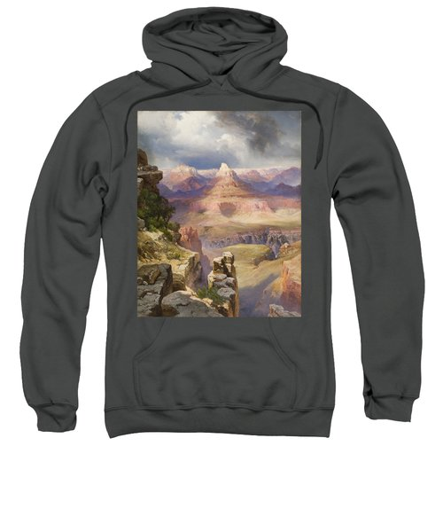 The Grand Canyon Sweatshirt by Thomas Moran
