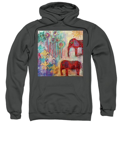 The Guardians Of Night And Day Sweatshirt