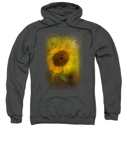 The Happiest Flower Sweatshirt by Jai Johnson