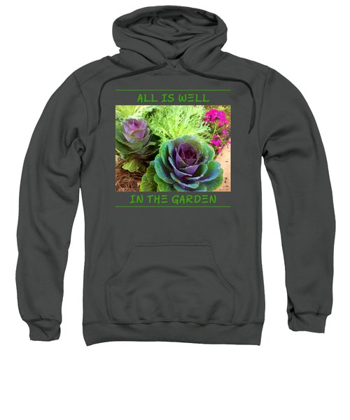 The Healing Garden Sweatshirt by Korrine Holt