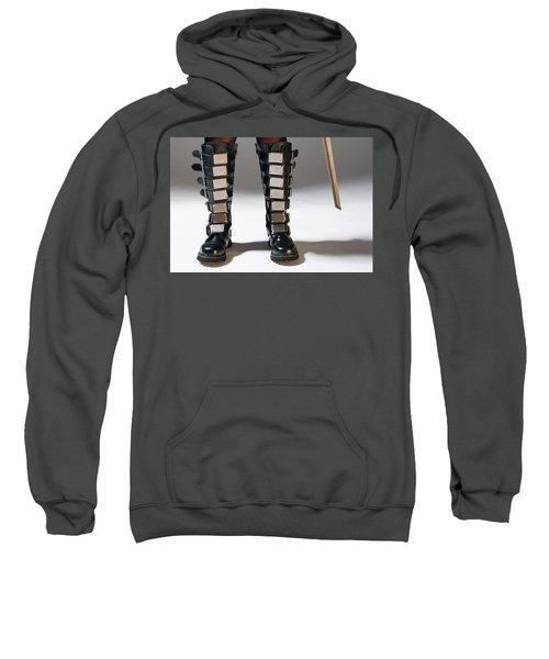The Heroine Stands Sweatshirt