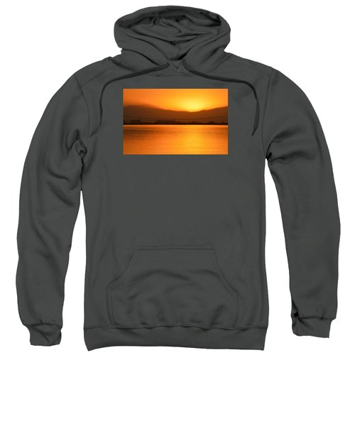 The Hour Is Golden Sweatshirt