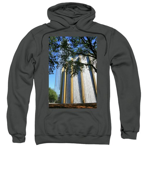 The Houston Water Wall And Williams Tower Sweatshirt