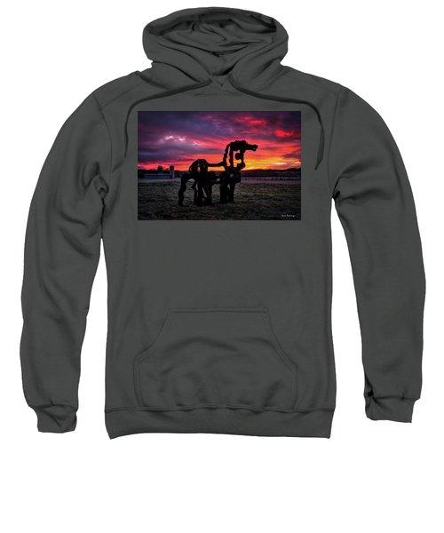 The Iron Horse Sun Up Art Sweatshirt