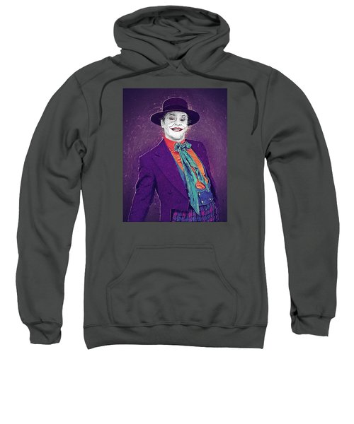 The Joker Sweatshirt by Taylan Apukovska