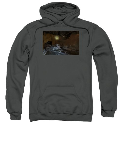 The Lamp Of The Abandoned Furnace Quarry  Sweatshirt