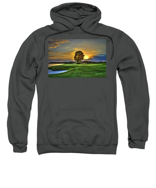 The Landing Golf Course Reynolds Plantation Landscape Art Sweatshirt