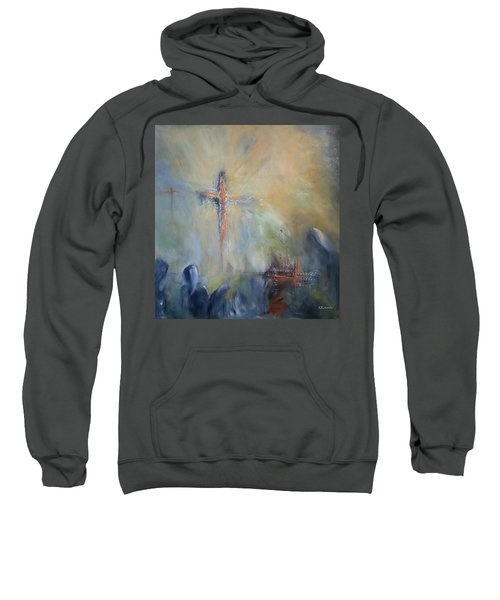The Light Of Christ Sweatshirt