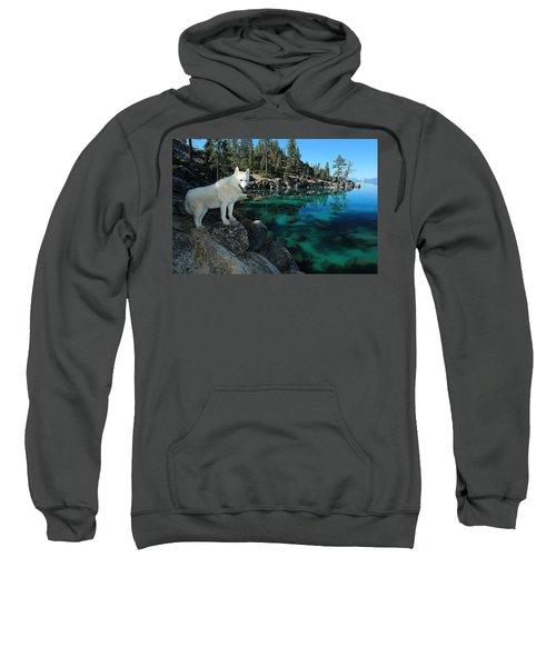 The Light Of Lake Tahoe Sweatshirt